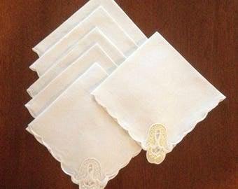 6 Linen Napkins