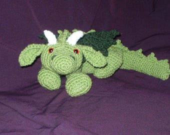 Ash the Dragon Crochet Pattern , PDF, Downloadable