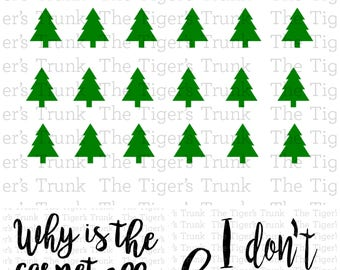 Why Is the Carpet All Wet Todd? I Don't Know Margo!   Christmas Vacation   Family Vacation   cutting file package (SVG, JPG, DXF files)