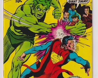 Superman's Pal Jimmy Olsen; Vol 1, 136, Bronze Age Comic Books. VF+  (8.5). March 1971. DC Comics