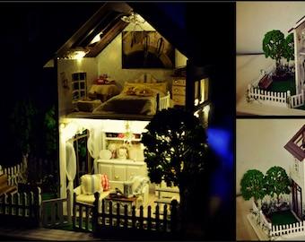 Handmade dollhouse ''Paris apartment''