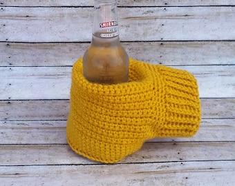 Can Cozy; Bottle Cozy; Mitten Cozy; Can and Mitten Cozy; Beer Cozy