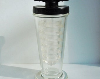 Science Glass / The Fisher Mulligan Gas Washer / Laboratory Glass / Great Scientific Decor and Style