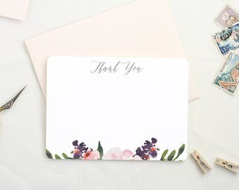 Baby Shower Thank You Cards. Thank You Cards Wedding Set. Set of Floral Thank You Cards. Graduation Thank You Cards. Boxed Card Set.