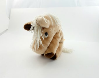 Vintage 70s Russ Berrie Horse Plush, Toy Horse, Horse Gift, Horse Plushie, Horse Lover Gift, Russ Toys, Russ Stuffed Animal, Horse Toy