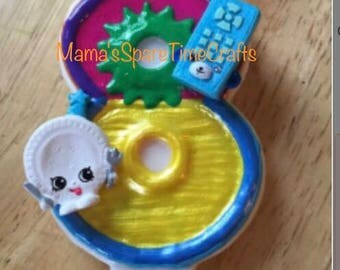Shopkins birthday candle, shopkins number birthday candle