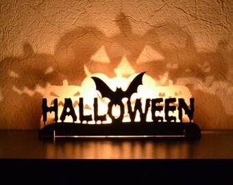 Halloween decor Halloween decorations Fireplace decoration Fall Decor Halloween Mantle decor Window Decoration Halloween Lights Outdor