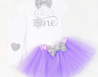 lavender and silver onederland first birthday winter onderland first birthday outfit onederland first birthday outfit cake smash outfit