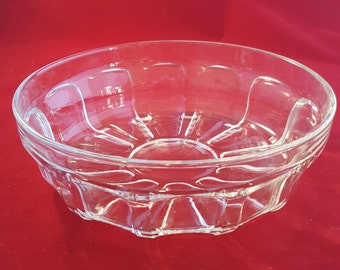 Vereco France Pressed Glass Bowl
