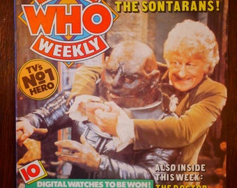Doctor Who Weekly Number 6 (Marvel Comics Presents)