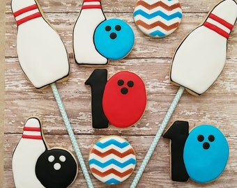 Bowling Cookies (Dozen)