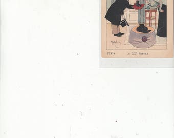 Delightful French Advertising Card French Boot Company London Salesman Shows Milady Boots Histoire De La Chaussure