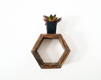 Floating Shelves | Honeycomb Shelf | Floating Shelf | Hexagon Shelves | Home Decor