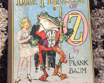 The Lost Princess of Oz by L. Frank Baum 1917
