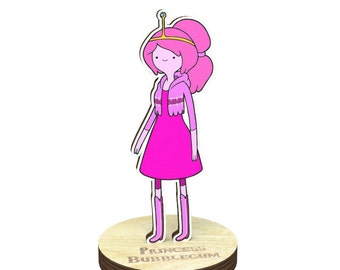 Princess Bubblegum | Adventure time Figurine on a stand charm
