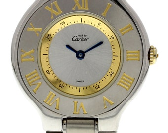 Must de Cartier 21 1330 Stainless Steel