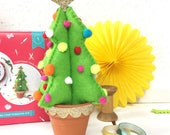 craft a christmas tree, christmas craft, pom pom, stocking fillers, gifts for her, christmas tree, christmas ornaments, christmas fun