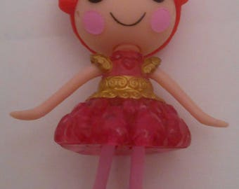 CUSTOM Ornament Made From Lalaloopsy Dazzle N Gleam NEW Pink Red