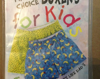 First Choice Boxers for Kids #804 5 Panel from Timber Lane Press