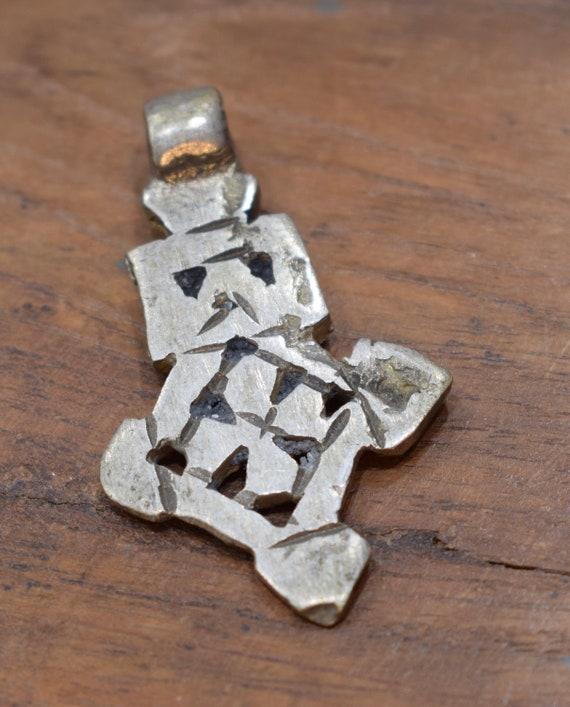 Cross Silver Coptic Ethopian Religious Tuareg North Africa Silver Coptic Cross