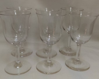 set of 6 crystal wine glasses clear crystal wine glasses
