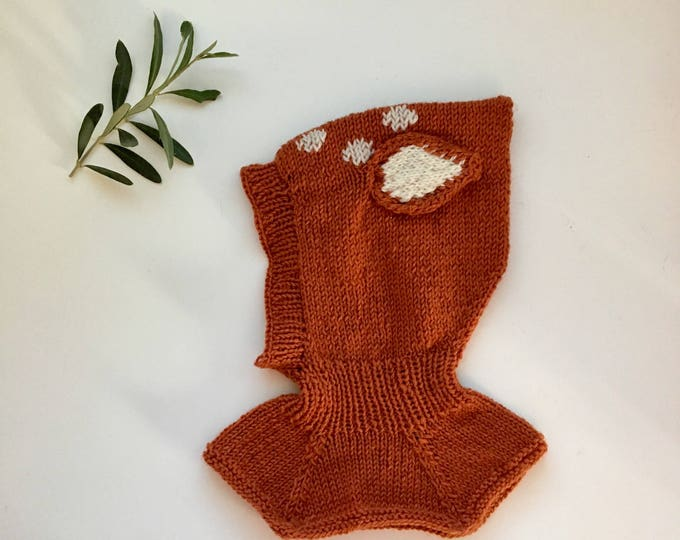 Featured listing image: KNITTING PATTERN - Little Deer Hat