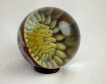 Implosion Marble w/ Pinwheel Backing