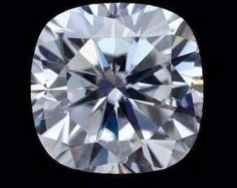 HARRO CUSHION Moissanite Loose Gemstones Cushion Cut Moissanite Large Color E F Moissanite Engagement Rings Square Cushion