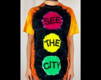 Medium Phish Slave To The Traffic Light Tie Dye Short Sleeve T Shirt