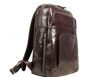 Travel backpack, Leather backpack, Backpacks, Mens leather backpack, Leather rucksack, Laptop backpack, Gift for him - L.A. Confidential