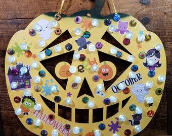 Happy Yellow Pumpkin (PUM334-1)