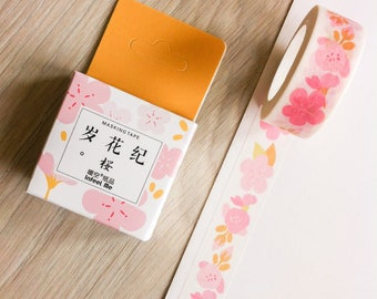 Cute washi tape - pink flowers - infeel me | Cute Stationery