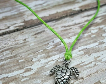 Sea Turtle Bracelet, Turtle Bracelet, Sea Turtle Baby Shower Favor, Sea Turtle Jewelry, Sea Turtle Wish Bracelet, Silver Turtle Bracelet