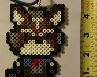 STAR FOX Smash Brothers/starfox 64 Bead Sprite + Lanyard