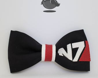 N7 Mass Effect / Andromeda Initiative Bow Bowtie