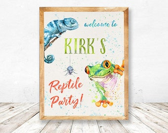 Reptile Party Printables, Reptile Birthday Party Printable, Reptile Party Thank you cards, Reptile Party Pack, Reptile Party Welcome Sign,