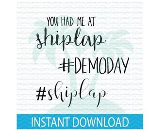 demoday svg, shiplap svg, fixer upper svg, joanna gaines svg, SVG bundle, svg files for Silhouette, svg files for Cricut