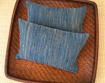 A Set of Two Organic Buckwheat Hull Travel/Support Cushions - SC2