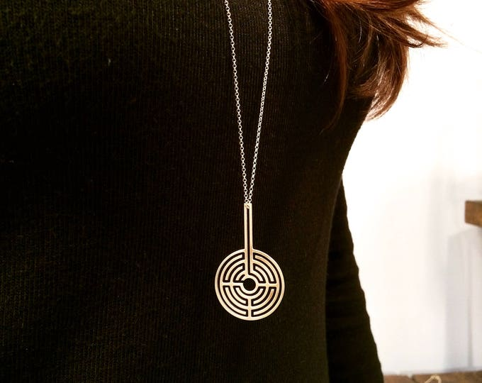 Labyrinth 360ᵒ Necklace