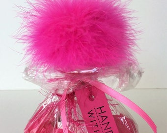 Cheerleader Gifts. Pom Pom Cheerleader Gift. Good Luck Cheerleader Gift. Cheerleader Gift Idea. Gift for Cheerleader. Free Domestic Shipping