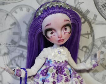 Faybelle Thorn repaint Ever after high repaint monster high repaint art doll creepy cute FREE SHIPPING