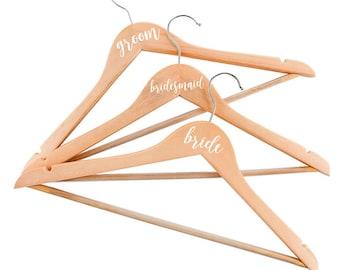 DIY Bridal Party Glass Decals Personalised Vinyl Labels - Diy vinyl wedding hangers