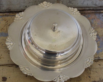 Yeoman Silver Plated Dome Butter Dish