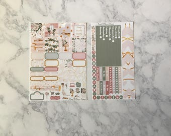 Mini Happy Planner Weekly Sticker Kit- Truly, Madly, Deeply