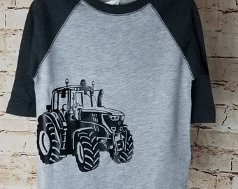 John Deere Toddler Long Sleeve Shirt (Raglan)