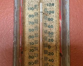 Mitchel Insecticide Co. Thermometer