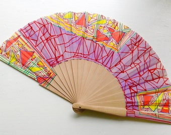 Unique hand fan design 2