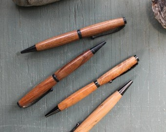 Hand Turned Cherry Wood Pen