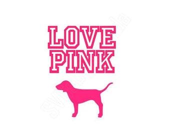 Download Love pink svg | Etsy