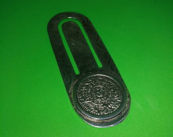 Vintage silver money clip